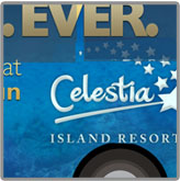 Celestia Island Resorts Bus Wrap
