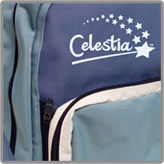 Celestia Backpack Logo