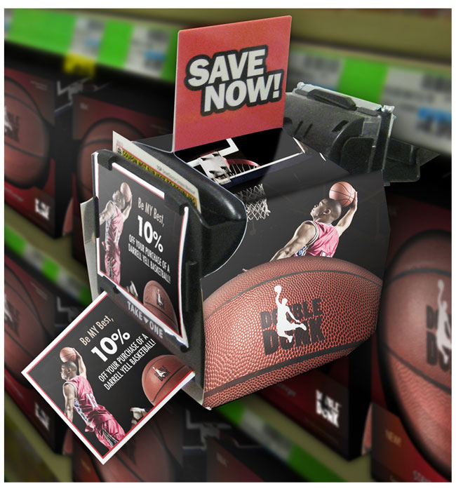 Double Dunk Coupon Display