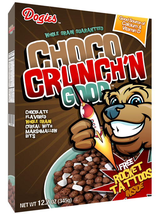 Choco Crunch n' Good Cereal Package
