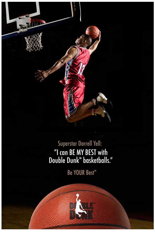 Double Dunk Basketball Poster