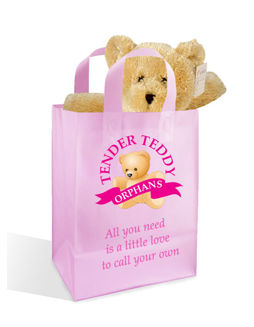 Tender Teddy Orphans Shopping Bag